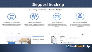singpost tracking